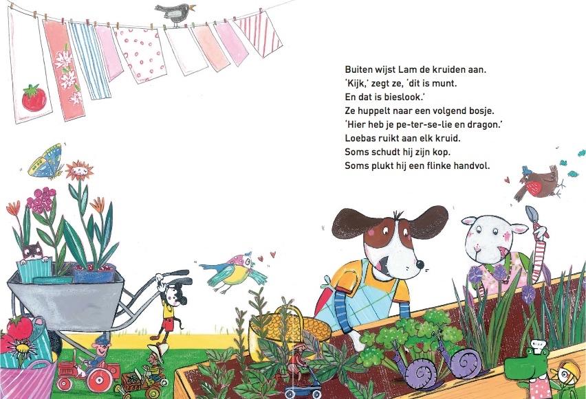 Lam en Loebas, kleine koks2
